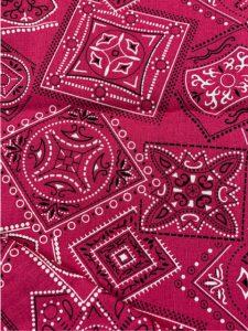 869 pink bandana