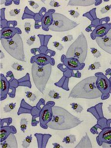 920 Trolls purple