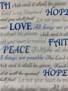 916 faith hope love