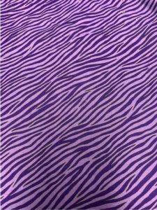 891 zebra purple
