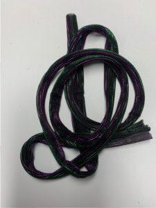 strap purple green