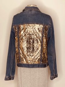 tan blk sequins large